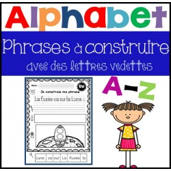 Phrases à construire - Alphabet