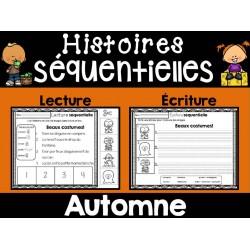 Histoires séquentielles-Lecture/écriture AUTOMNE