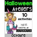 10 Ateliers d'Halloween - Littératie
