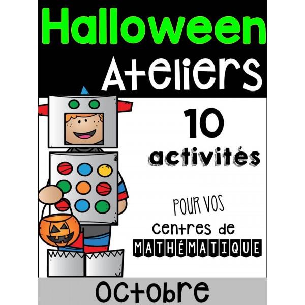 10 Ateliers d'Halloween - Mathématiques