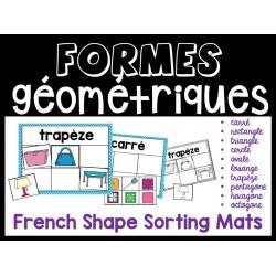 Formes géométriques à trier