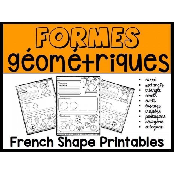 Formes géométriques - Pages imprimables