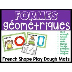 Formes géométriques avec pâte à modeler
