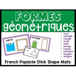 Formes géométriques avec bâtonnets