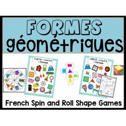 Jeux avec les formes géométriques