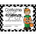 Certificats pour l'Halloween
