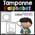 Tamponne l'alphabet - Lettres minuscules