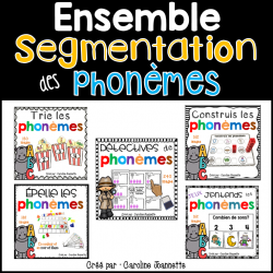 ENSEMBLE - Segmentation des phonèmes