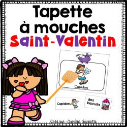 Jeu - Tapette à mouches de la Saint-Valentin