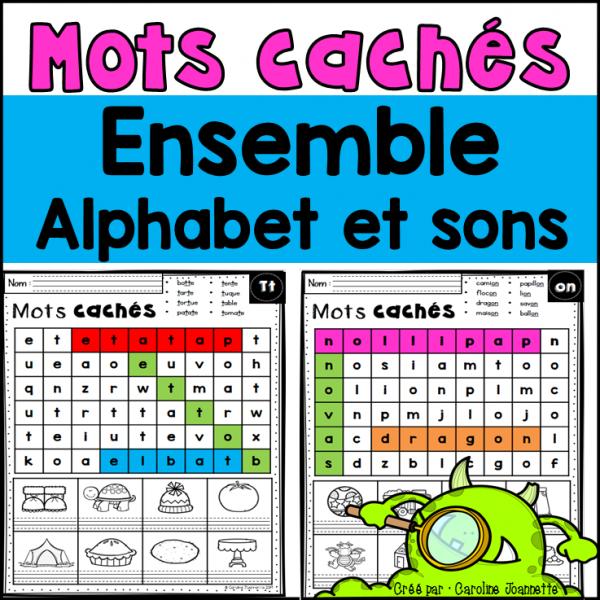 Ensemble - Mots cachés de l'alphabet et des sons