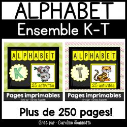 Ensemble - Alphabet K à T