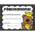 Certificats de fin d'année - Animaux