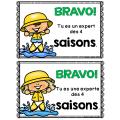 SAISONS - GRATUIT - Minis livres de lecture