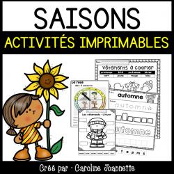 Saisons - Activités imprimables