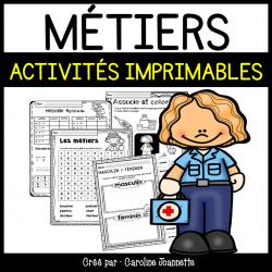 Métiers - Activités imprimables