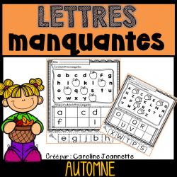 Lettres manquantes - Automne