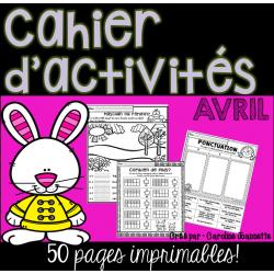 Cahier d'activités - Avril