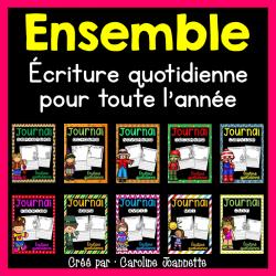 Ensemble - Écriture quotidienne pour l'année