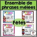 Ensemble - Phrases mêlées des FÊTES