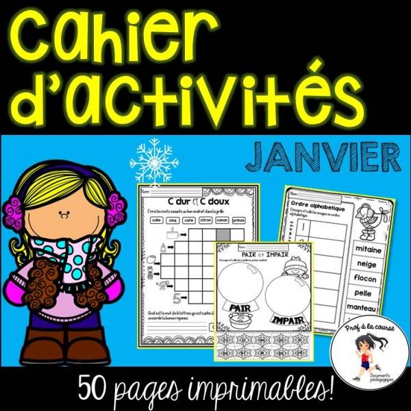 Cahier d'activités - Janvier
