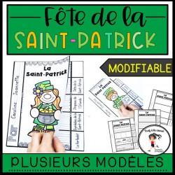 Livre à rabats de la Saint-Patrick