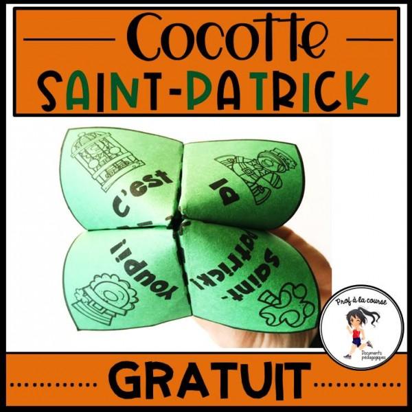 Cocotte de la Saint-Patrick - GRATUIT
