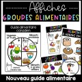 Alimentation - Groupes alimentaires Affiches