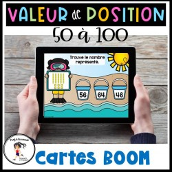 Valeur de position 50 à 100 - CÀT BOOM Learning