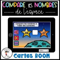 Compare les nombres 1 à 100 - CÀT BOOM Learning