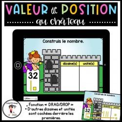 Valeur de position 1 à 100 - CÀT BOOM Learning