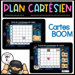 Plan cartésien Cartes BOOM Learning