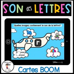 Son des lettres|Alphabet Cartes Boom Learning