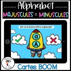 Majuscule et minuscule Cartes BOOM Learning
