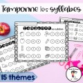 Tamponne les syllabes - Conscience phonologique