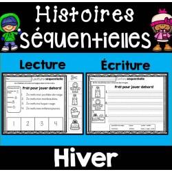 Histoires séquentielles -Lecture et écriture HIVER