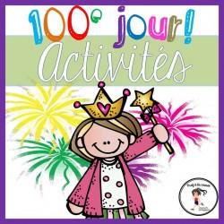100e jour d'école (activités et bricolages)