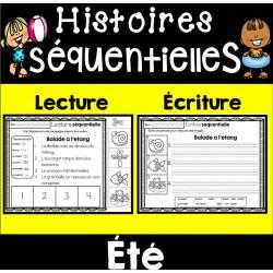 Histoires séquentielles - Lecture et écriture ÉTÉ