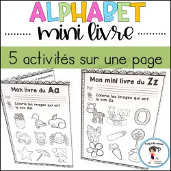 Mini livre de l'alphabet