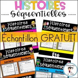 GRATUIT Histoires séquentielles Lecture-écriture