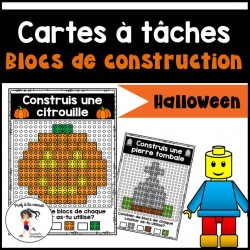Blocs de construction - CÀT (HALLOWEEN)