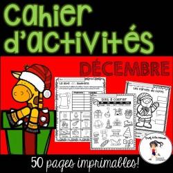 Cahier d'activités - Décembre