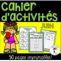 Cahier d'activités - JUIN