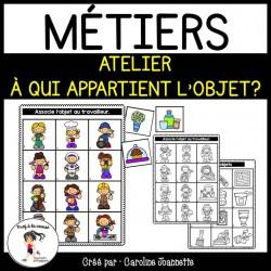 Métier - À qui appartient l'objet?