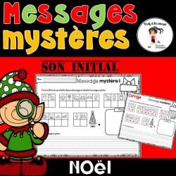 Messages mystères de Noël - Son initial