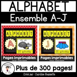 Ensemble - Alphabet A à J
