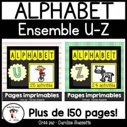 Ensemble - Alphabet U à Z