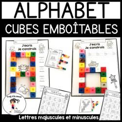 Ensemble Alphabet - Cubes emboîtables