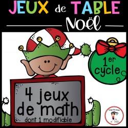 Jeux de mathématiques de Noël