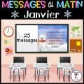 Messages/lecture du matin - Janvier