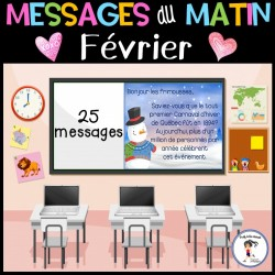 Messages/lecture du matin - Février/Saint-Valentin
